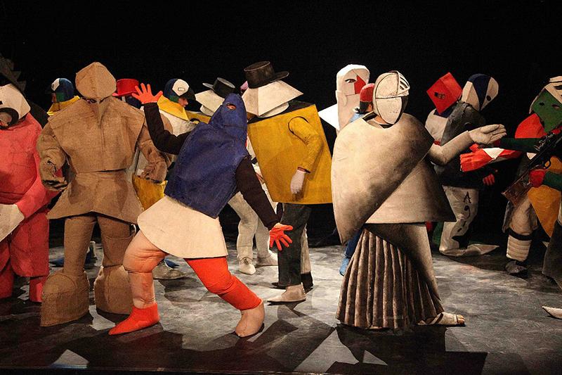 Реконструкция оперы-буфф «Победа над солнцем», Московский театр музыки и драмы Стаса Намина.