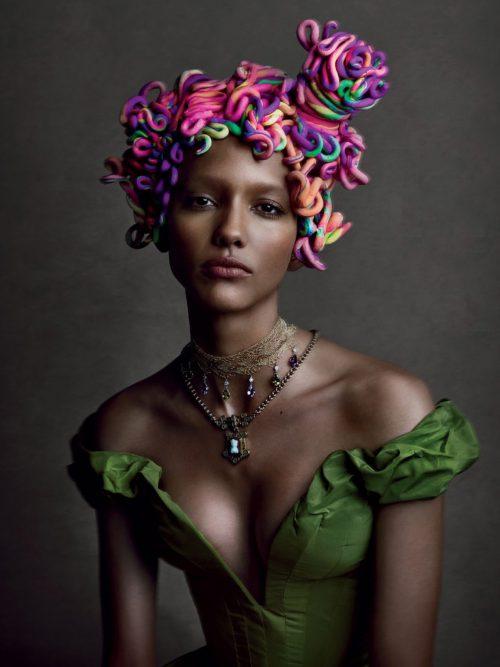 Кора Эммануэль, W Magazine, 2013