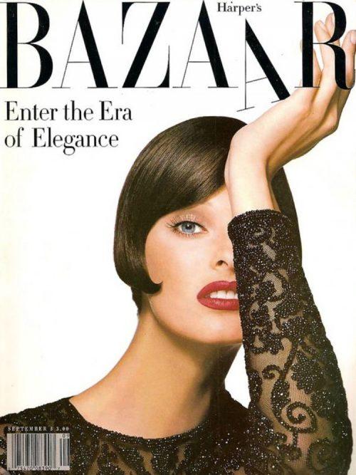 Линда Эвангелиста, Harper's Bazaar 1992