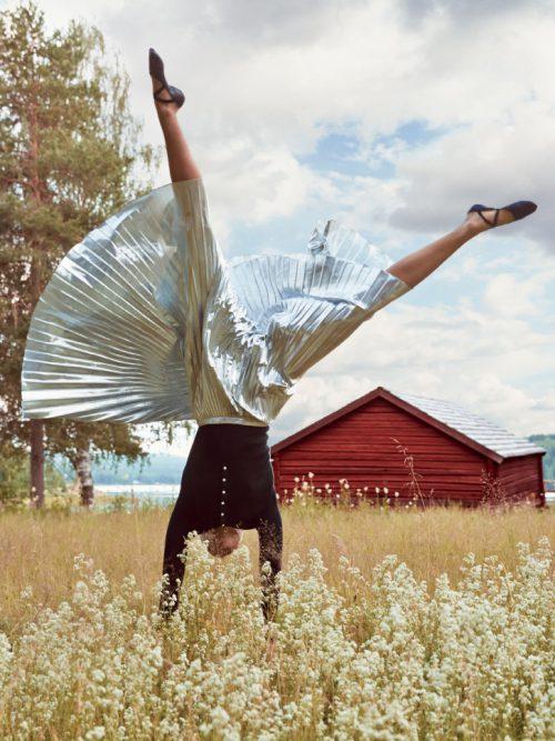 Карли Клосс, Vogue 2014