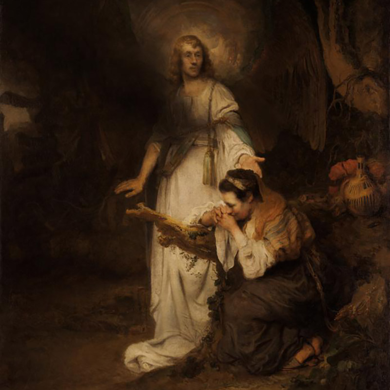 Карел Фабрициус. Явление ангела Агари. Около 1645.