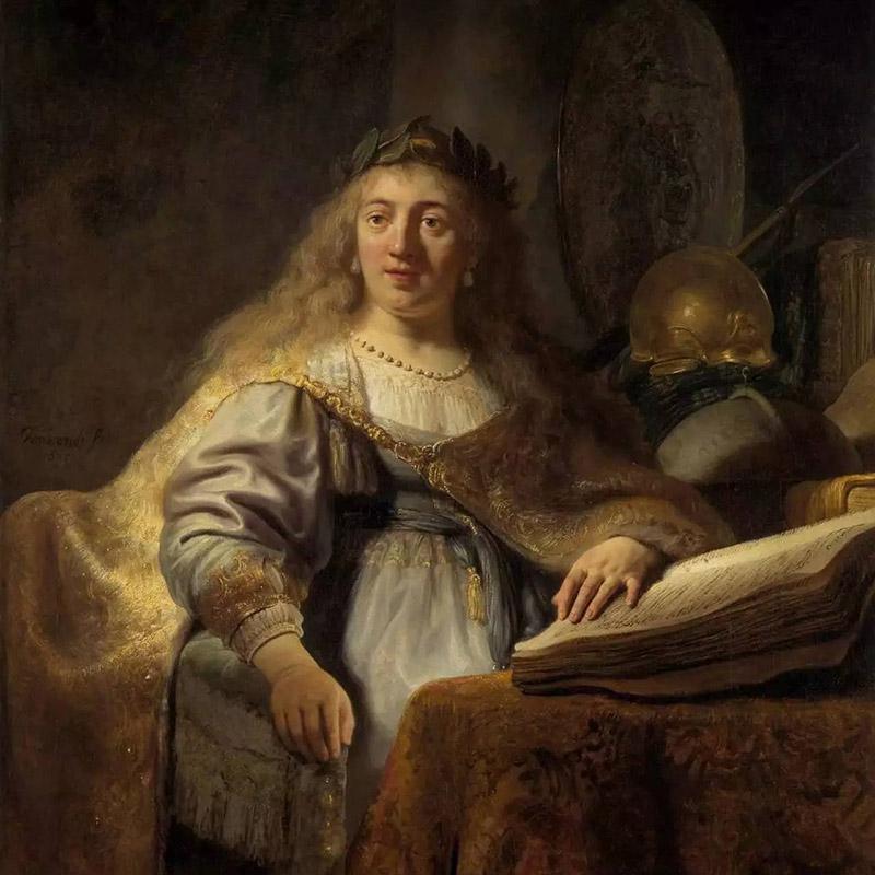 Рембрандт Харменс ван Рейн. Минерва. 1635