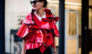 PFW Spring 2016 Street Style, Giovanna Battaglia