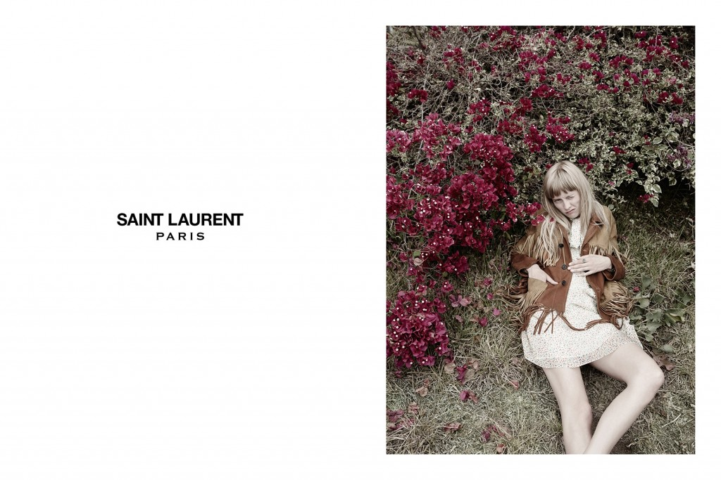 Fringe and Suede, Saint Laurent